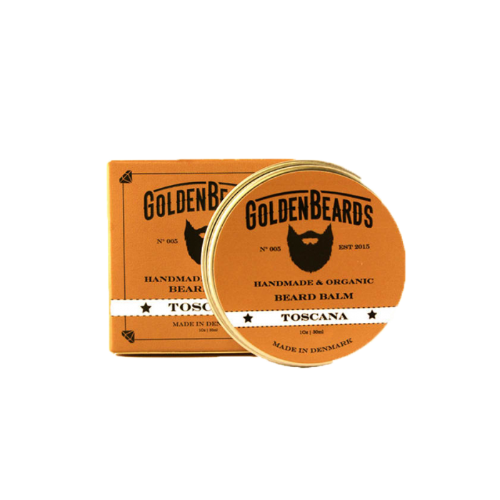 Balsam de Barba Golden Beards Toscana Beard Balm 60ml